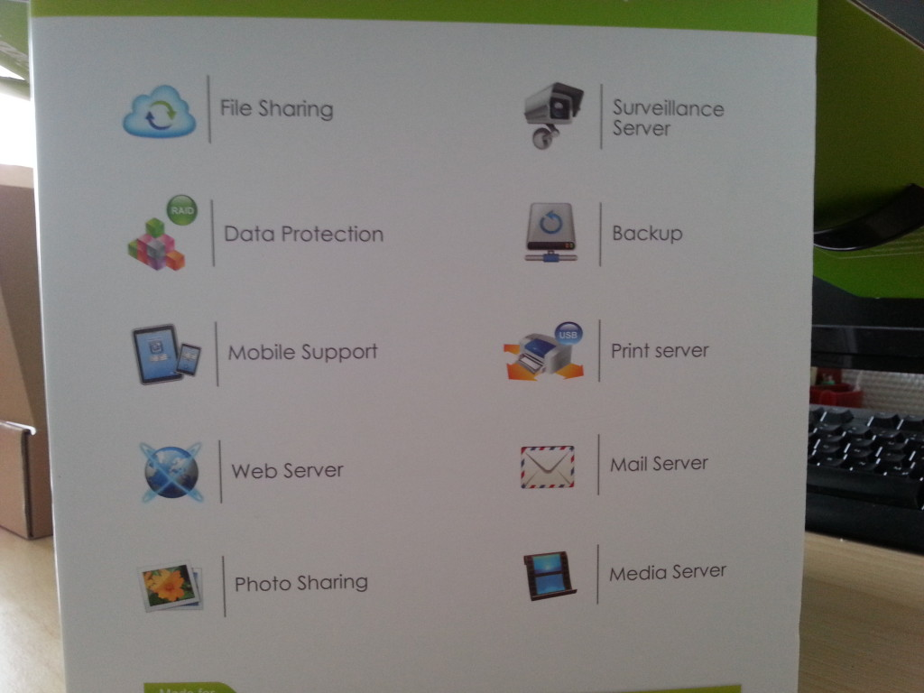 Synology 713+ Funktionen