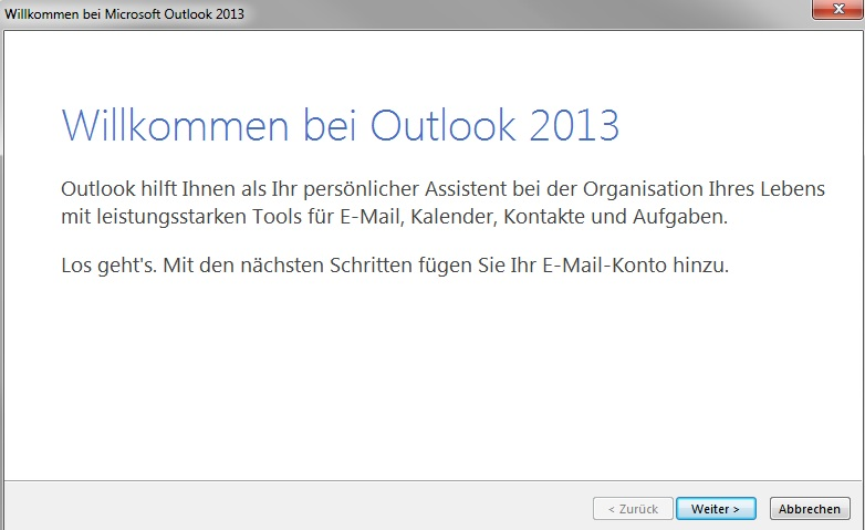 Outlook 2013 - Assistent