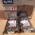 2Bay NAS Test – ZyXEL NSA325 USB 3.0 Unboxing und Übersicht