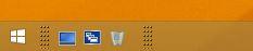 Windows 8.1 Schnellstartleiste aktivieren | Schnellstartleiste an Ort und Stelle