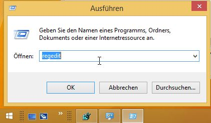Windows 8.1 Autostart | regedit