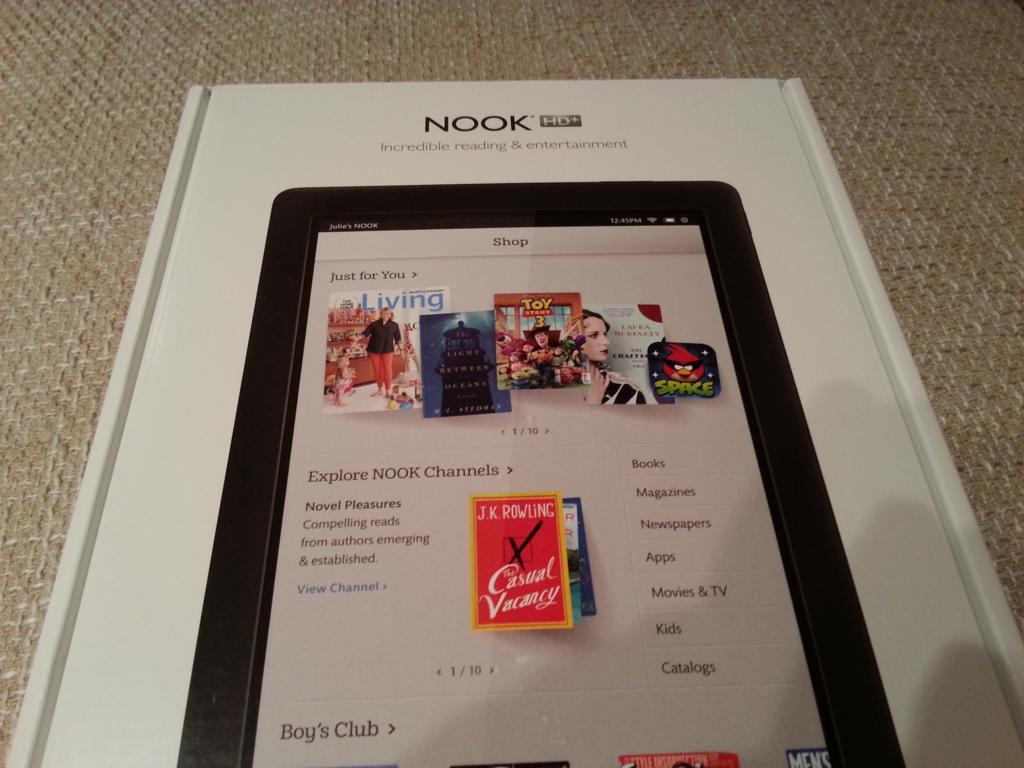 Barnes & Noble Nook HD+ | Verpackung