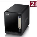 2-Bay NAS ZyXEL NSA325 v2 – neu, schick und leise