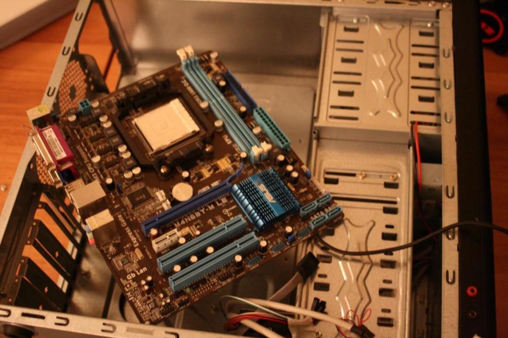 PC richtig aufrüsten | alte Komponenten ausgebaut