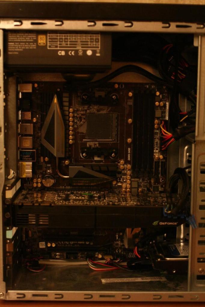 PC richtig aufrüsten | GTX 570 eingebaut