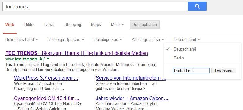 Google Personalisierung2