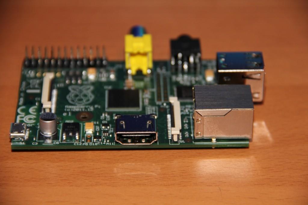 RaspberryPi | Ansicht HDMI Schnittstelle