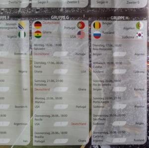 WM 2014 in Brasilien | Spiele von Deutschland