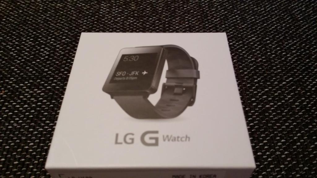 LG G Watch ausgepackt   Verpackung