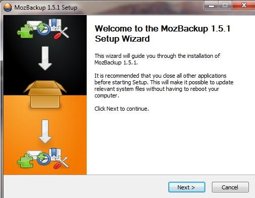 """Browsereinstellungen sichern mit """"mozbackup"""""""