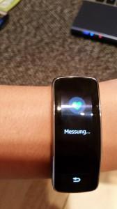 Samsung Gear Fit   Pulsmessung