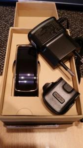Samsung Gear Fit ausgepackt