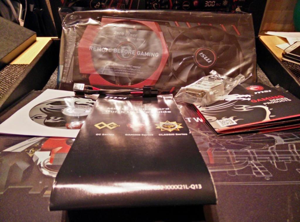 MSI Geforce GTX 970 Gaming G4 mit Twin-Frozr Lüftern
