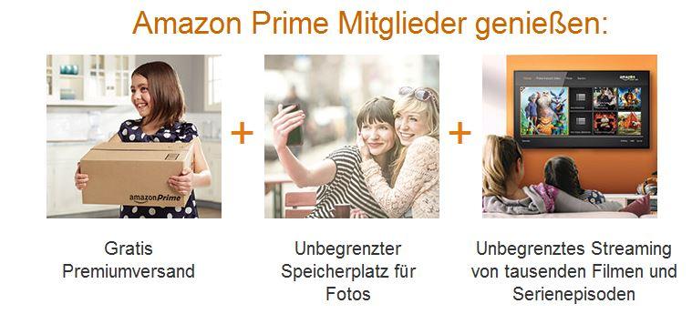 Amazon Prime erweitert | Amazon Prime Photo
