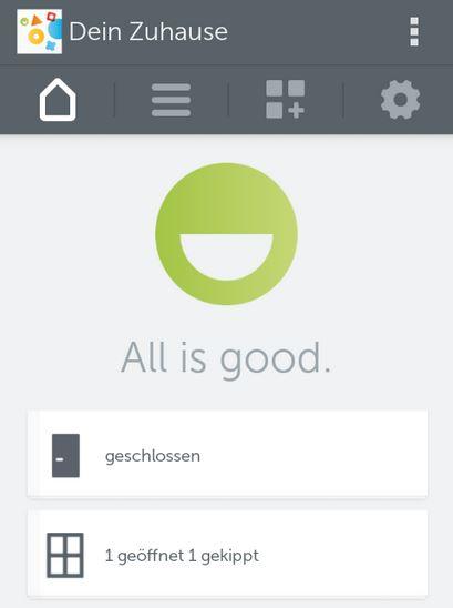 "Gigaset elements safety Starter Kit   ""All is good"""