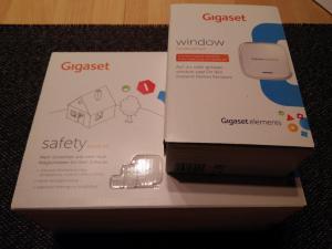 Gigaset elements safety Starter Kit | window