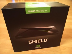 Nvidia Shield Android TV | Verpackung
