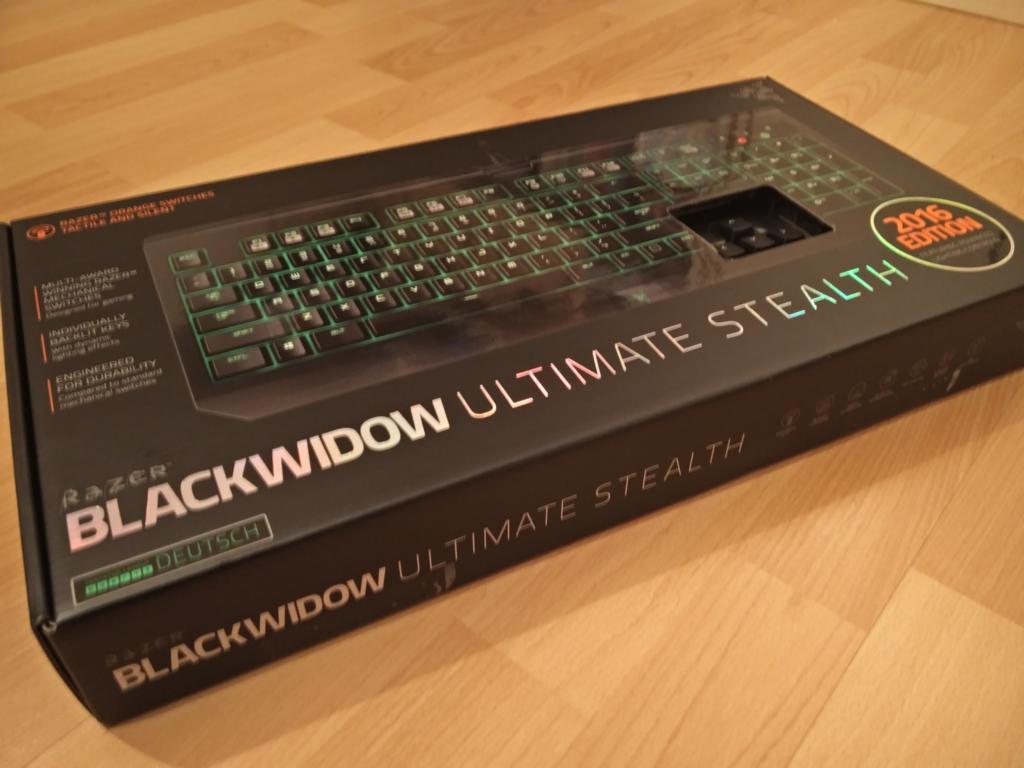 Razer BlackWidow Ultimate Stealth 2016