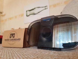Magic Cardboard 2.0 gegen HooToo 3D VR Box ausgepackt