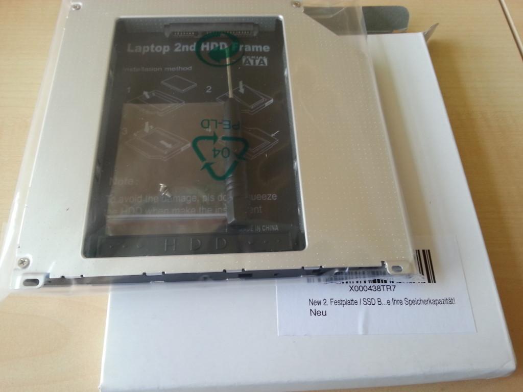 HDD Adapter | Lieferung mit Laufwerk vergleichen