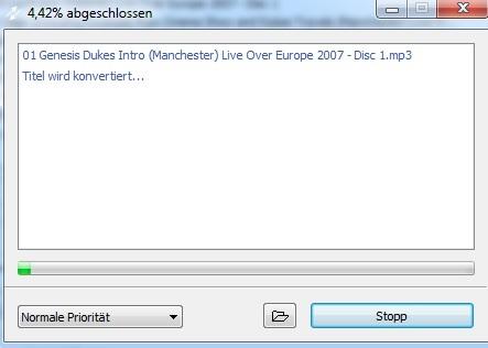 MP3 - Konvertierung
