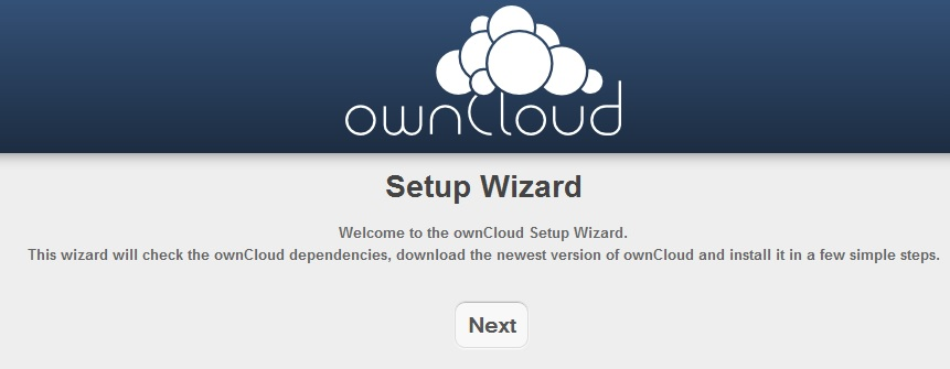 ownCloud - Setup