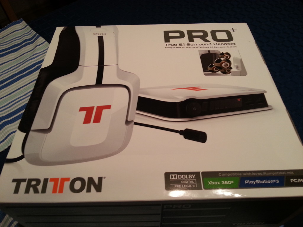 Tritton Pro+ Headset | Verpackung