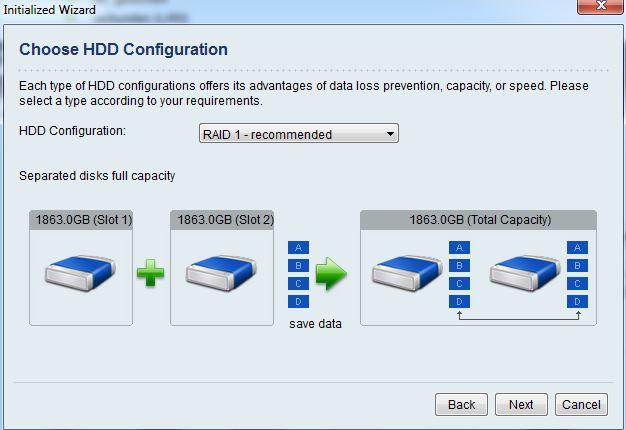 ZyXEL NSA325 | RAID einrichten
