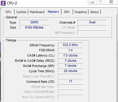 Arbeitsspeicher identifizieren | mit CPU-Z