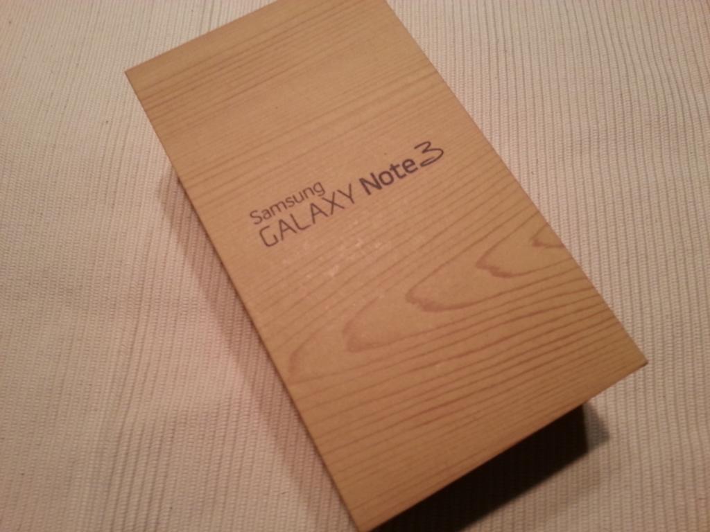 Samsung Galaxy Note 3 | Verpackung