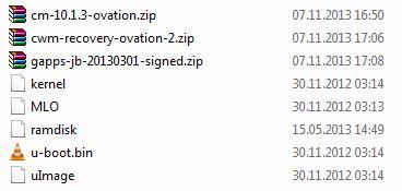CyanogenMode 10.1 Nook HD+ | alle Dateien auf SD-Karte