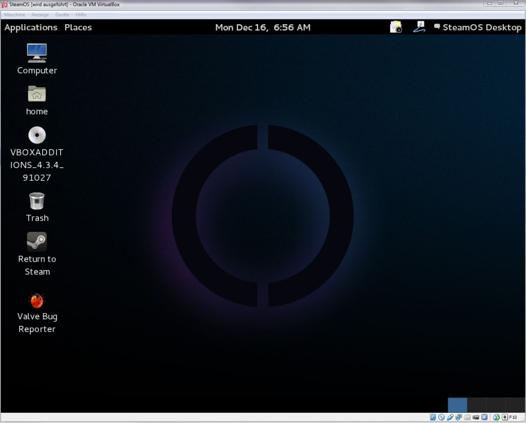 SteamOS | erfolgreich installiert