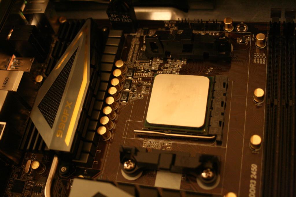 PC richtig aufrüsten | Prozessor eingebaut
