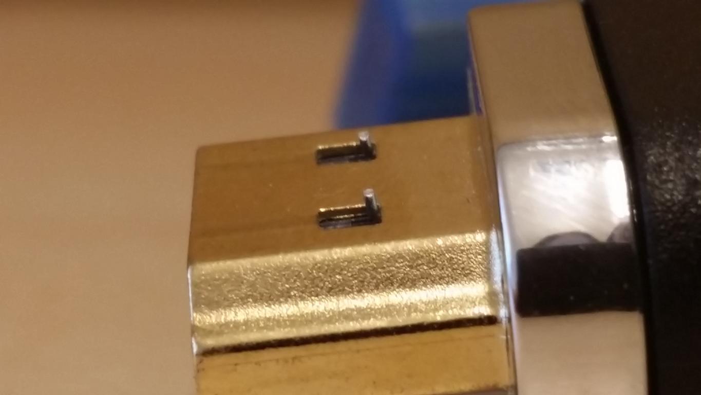 Purekink Ultra-Lock-System | Arretierung mit zwei kleinen Stiften