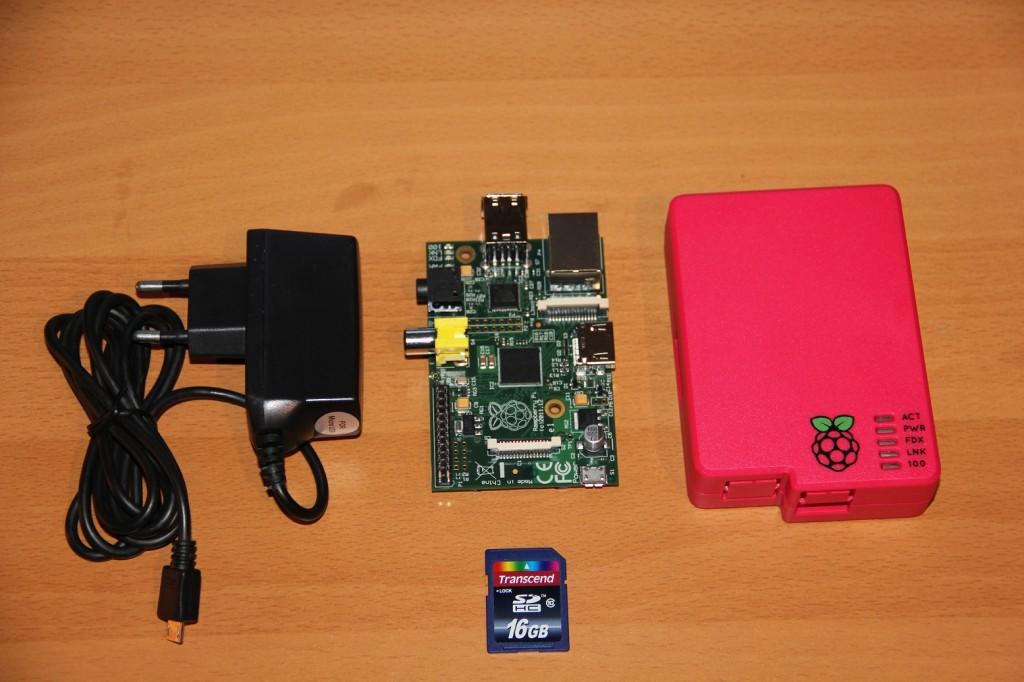 RaspberryPi | Stromversorgung, Gehäuse und Speicherkarte