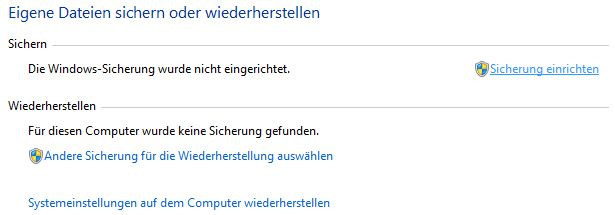 World Backup Day | Windows Sicherung