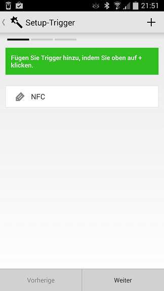 NFC-Tags - App Trigger