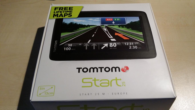 TomTom Start 25 M Europe | Verpackung
