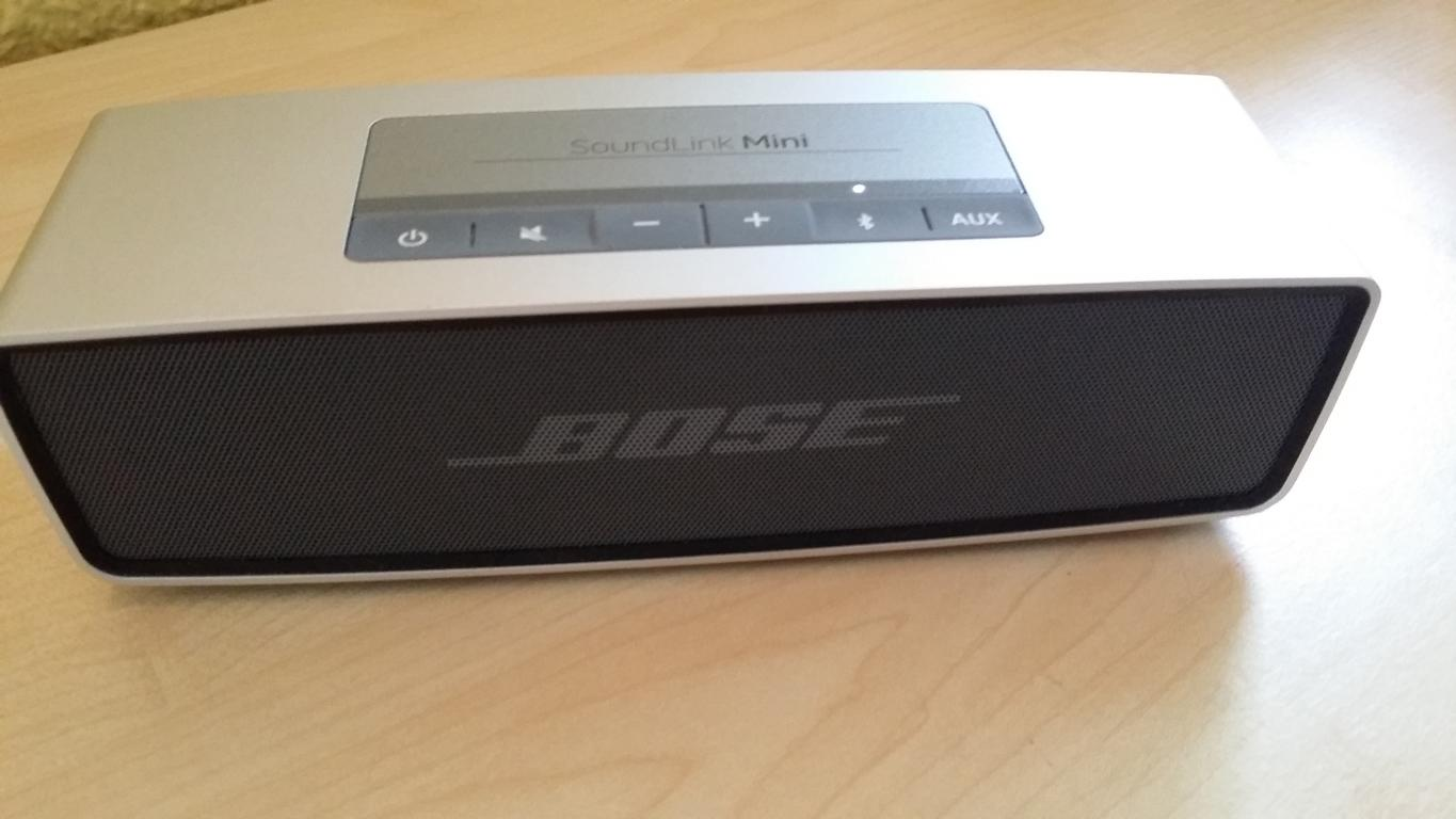 bluetooth lautsprecher im test bose soundlink mini. Black Bedroom Furniture Sets. Home Design Ideas