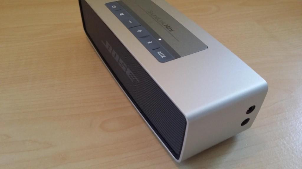 Bose Soundlink Mini von der Seite