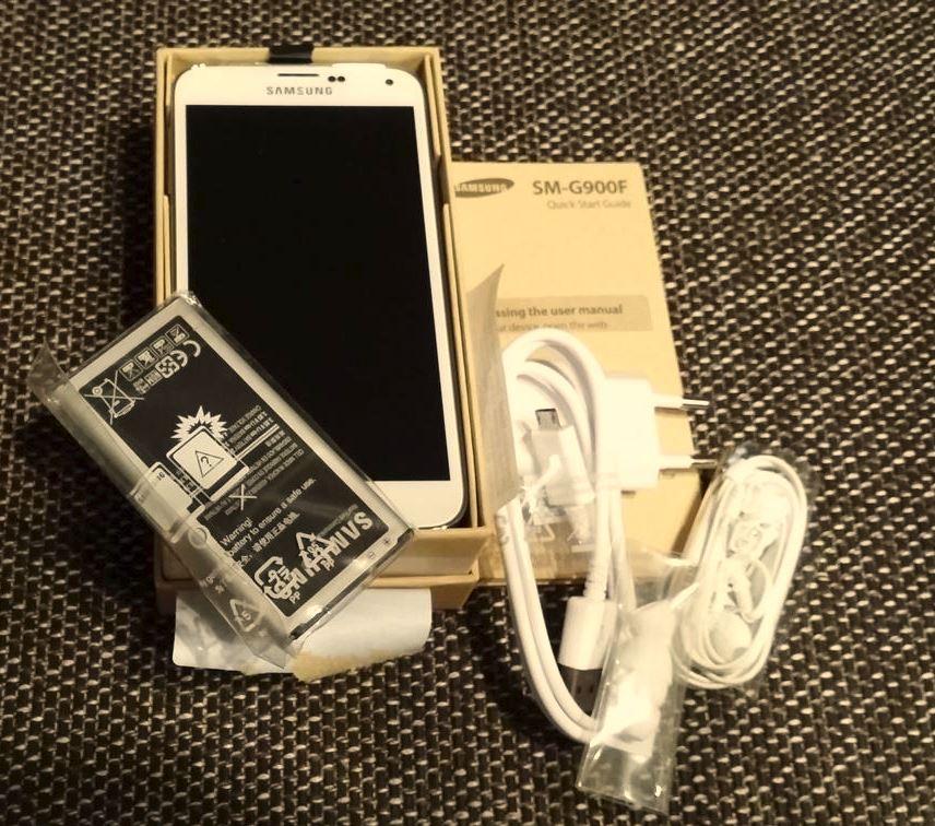 Samsung Galaxy S5 | Lieferumfang und Zubehör
