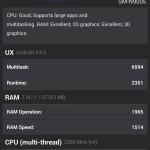 AnTuTu Benchmark | Galaxy Note 3 Übersicht 1