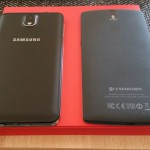 Vergleich OnePlus One und Note 3 von hinten