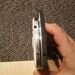 Vergleich OnePlus One und Galaxy S5 von oben