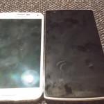 Vergleich OnePlus One und Galaxy S5 von vorne