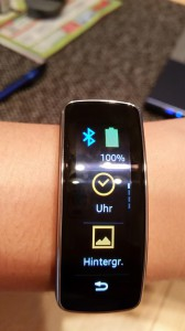 Samsung Gear Fit | Display und Menü