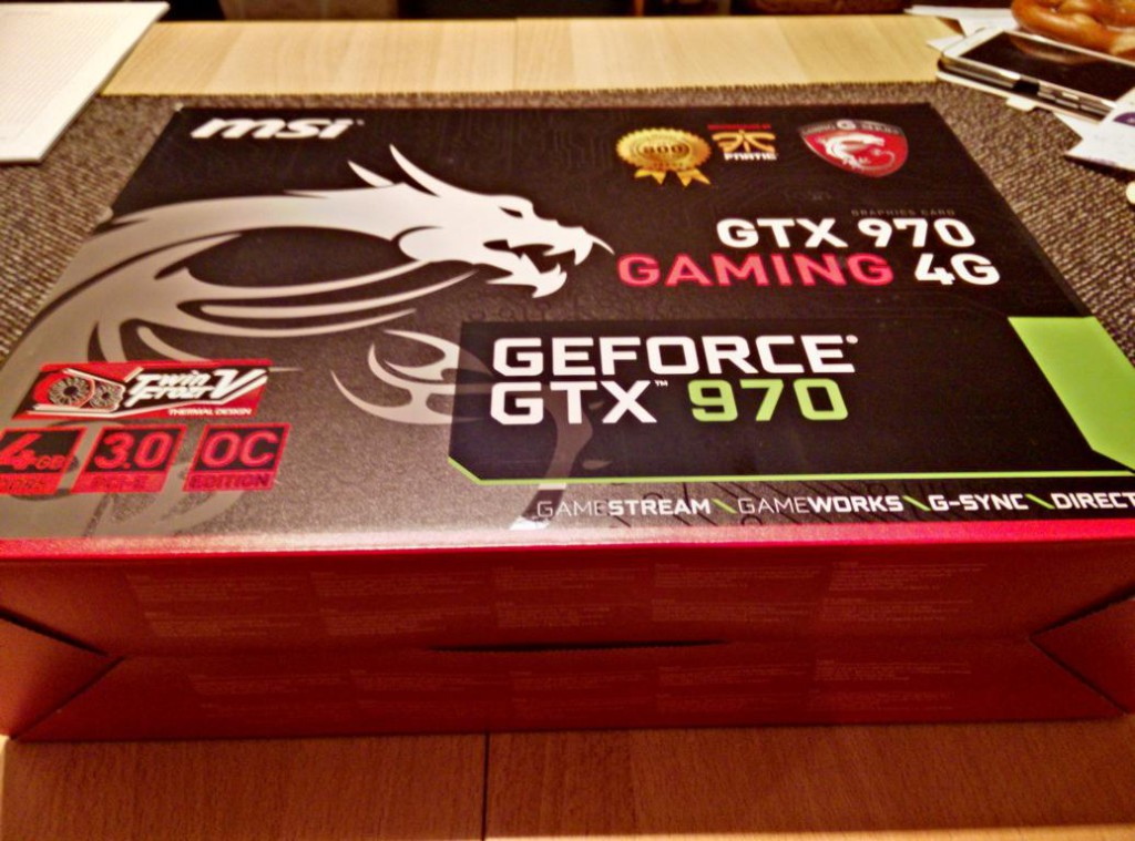 MSI Geforce GTX 970 Gaming G4