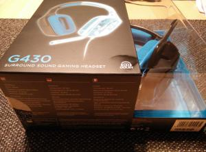 Logitech G430 Gaming Headset | Verpackung