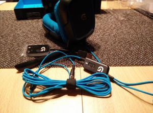 Logitech G430 Gaming Headset | schönes Design mit ausreichend Kabellänge