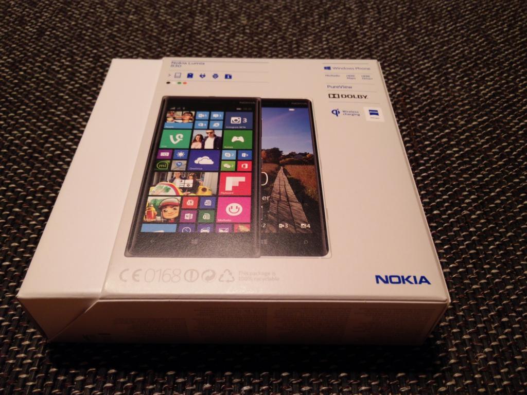 Nokia Lumia 830 | Verpackung